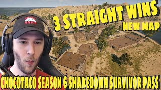 ChocoTaco 3 Straight Wins On Karakin New Pubg Update Season 6