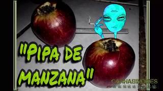 Como hacer una pipa con una manzana