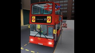 ROBLOX | London & South Bus Simulator V7.2 | Route 23: Liverpool Street to Marble Arch