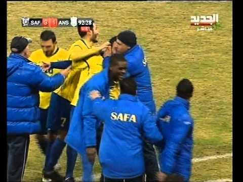 Ahmad Omaier Striker 2012/2013 Safa Beirut Lebanon beautiful Goals