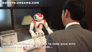 NAO Robot Bank Assistant in English