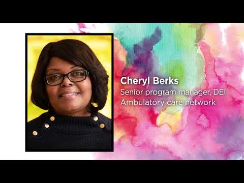 2021 Values in Action Award: Cheryl Berks