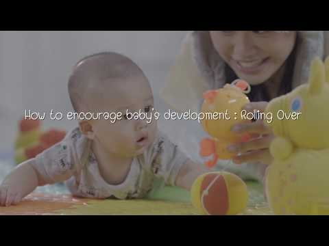 BabyLove Ep 9 How to encourage baby's development Rolling Over
