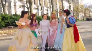 Disney Princesses Welcome Star Wars Princess Leia