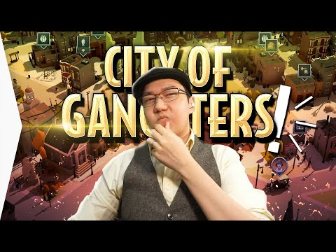 Breaking laws! ► CITY OF GANGSTERS is a Gang Management Tycoon Logistics Game - [Gamer Encounters]