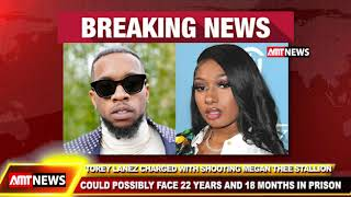 AMT BREAKING NEWS  - Rapper Tory Lanez charged in shooting of Megan Thee Stallion