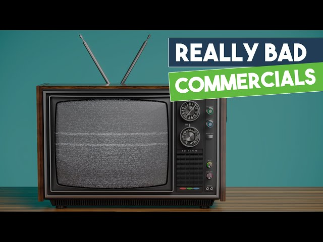 These Commercials are Ridiculous!