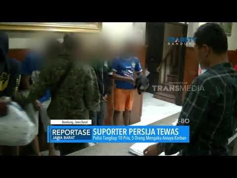 Suporter Persija Tewas Dikeroyok Bobotoh Persib Bandung, Polisi Tangkap 10 Pria