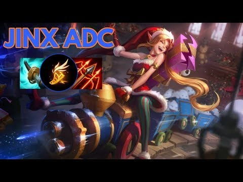 Ambitious Elf Jinx ADC-League of Legends Full Gameplay
