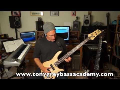Major 7 Chord Tones and Tensions Free Bass Lesson 1