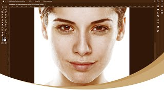 Hautretusche per Frequenztrennung in Photoshop CC