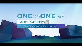 Gambar cover Digital CMO Summit '15 1:1 - Lauren Weinberg