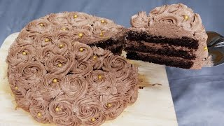 Simple Eggless Cake Without Oven   Eggless chocolate cake recipe   No butter, no eggs, no oven