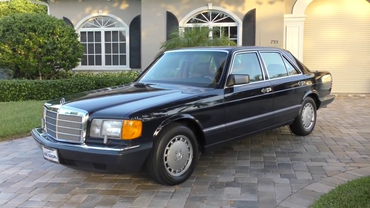 1990 Mercedes Benz 300se W126 Review And Test Drive By Bill Auto Europa Naples Youtube