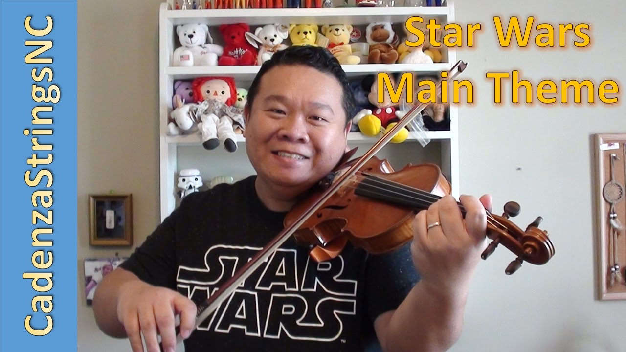 Star Wars | Main Theme | Violin Cover