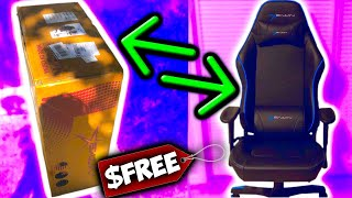 A Free Gaming Chair Showed Up On My Doorstep.. Ewinracing Gaming Chair Unboxing/Review!