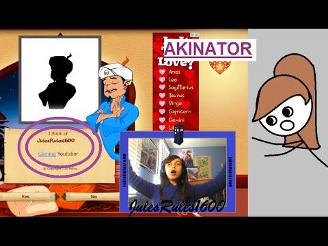 how to play akinator