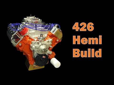 426 Hemi Engine Build -- Part 1
