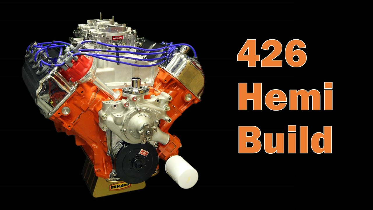 426 Hemi Engine Build Part 1 Youtube Piston Diagram