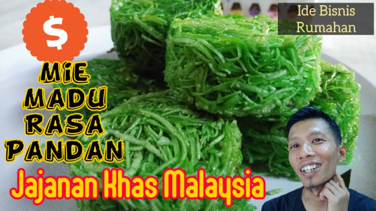 Ide bisnis rumahan / jajanan khas malaysia / mie madu rasa ...