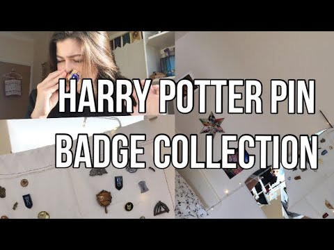 HARRY POTTER PIN BADGE COLLECTION!