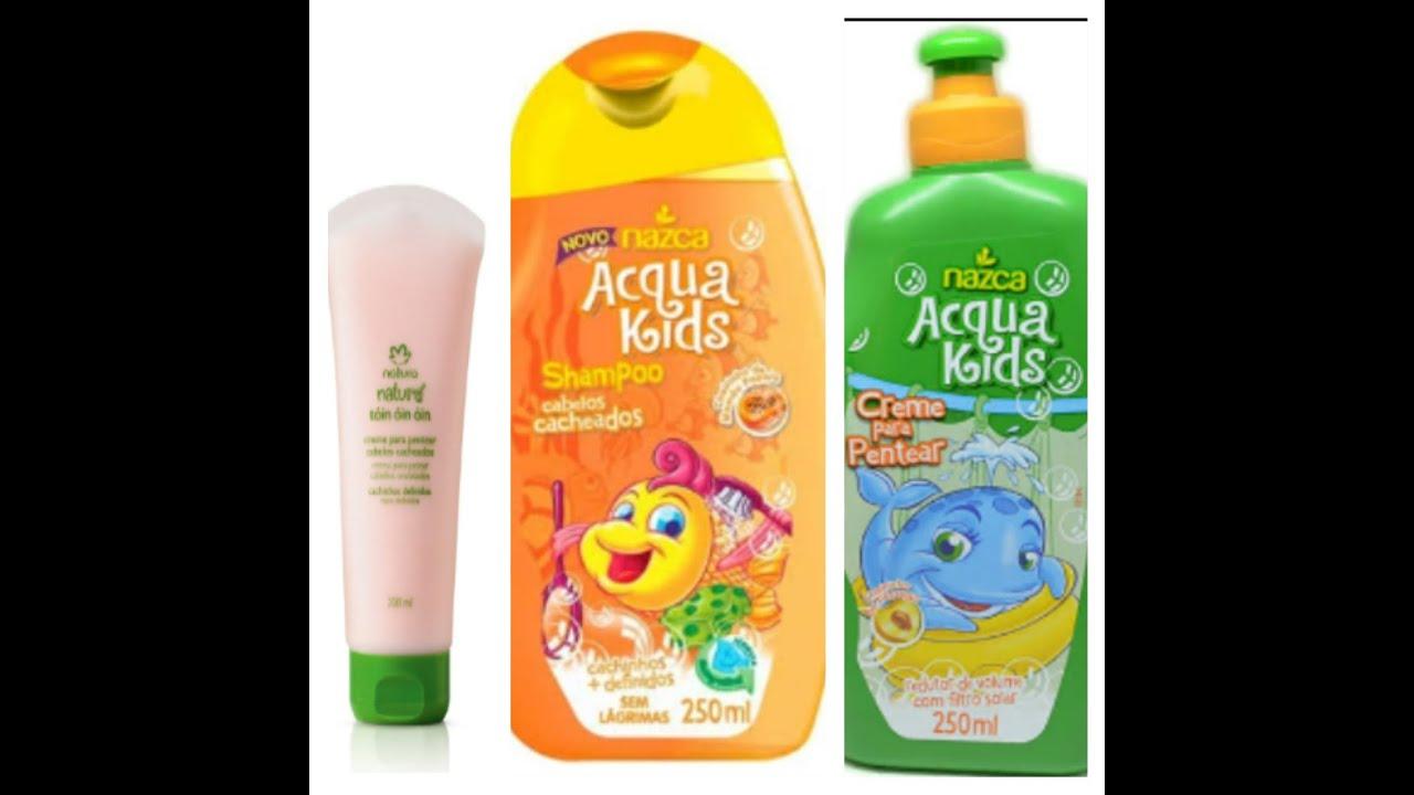 Resultado de imagem para produtos infantil para cabelos cacheados
