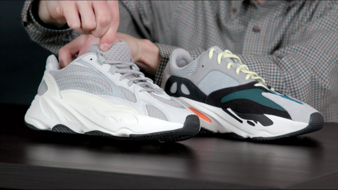 42cf1bfcf3b5fd Yeezy 700 V2 vs. V1  How Different Are They  - YouTube