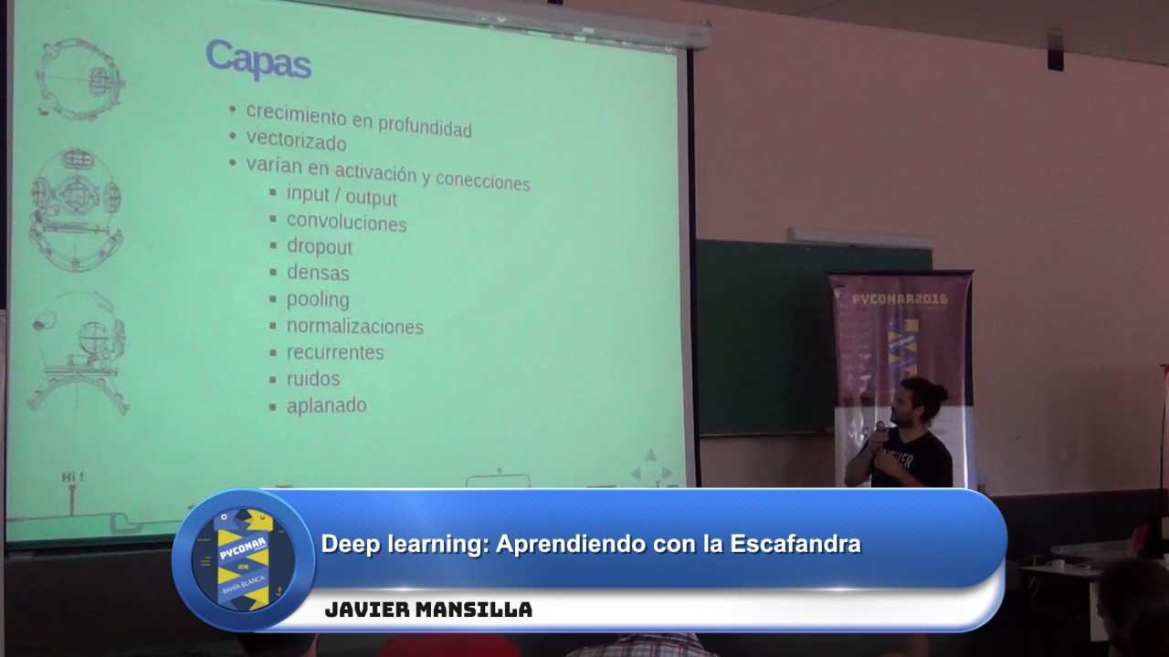 Image from Deep learning: Aprendiendo con la Escafandra
