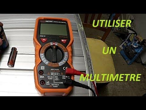 Comment utiliser un multimètre numérique ?