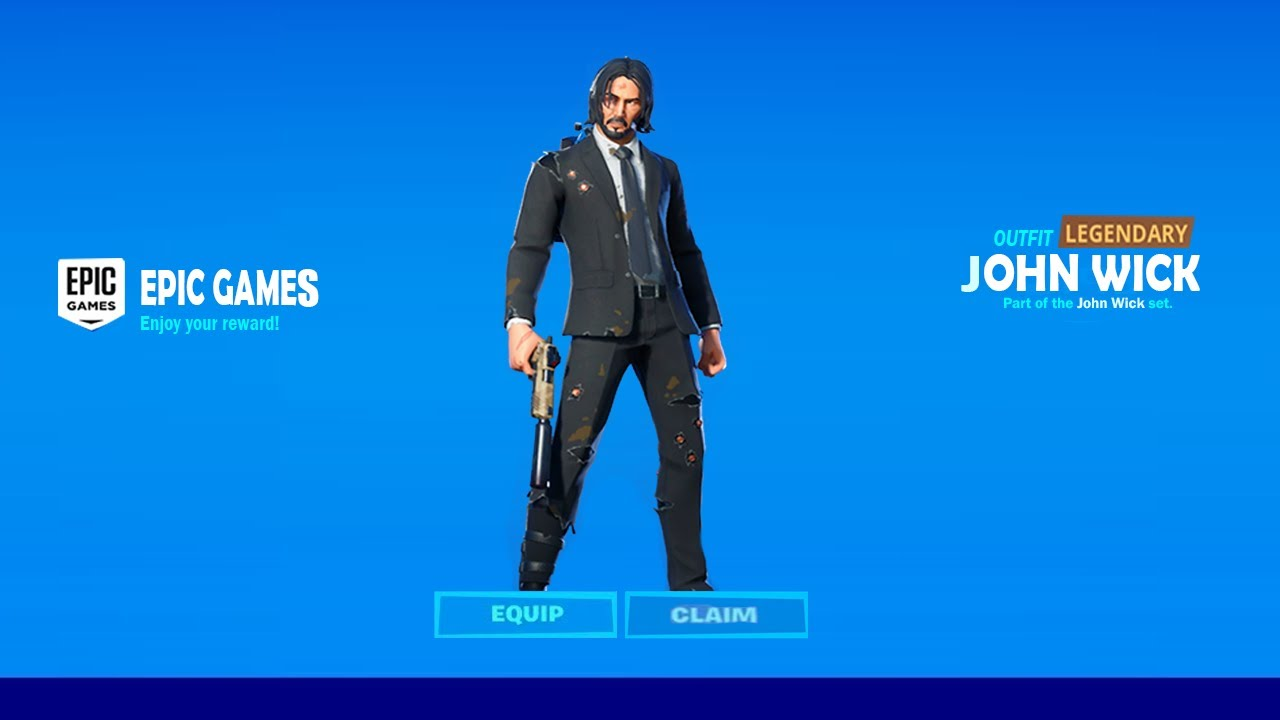 How To Get John Wick Skin Now Free In Fortnite Unlock John Wick Skin Free Sofia Skin Youtube