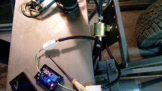 Перекачка топлива из основного бака в расходный. Таймер.