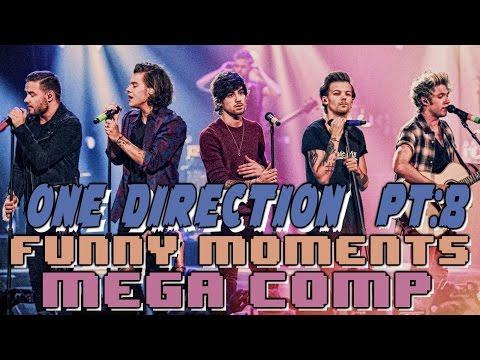 One Direction 1D Funny Moments Crack Humor MEGA COMP Pt:8