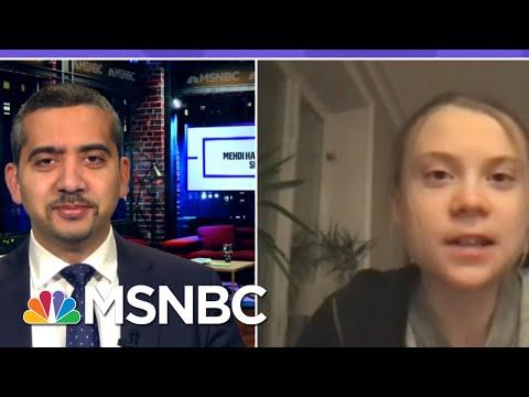 Greta Thunberg Urges Biden To Address The Climate Crisis   MSNBC