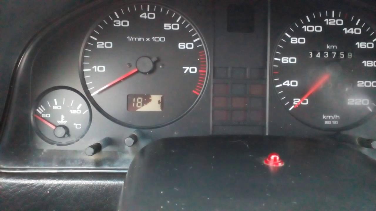 audi 80 b4 abk перегрев двигателя