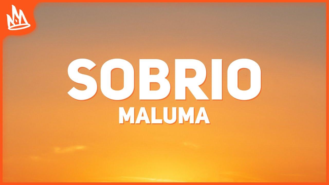 Maluma - Sobrio (Letra)