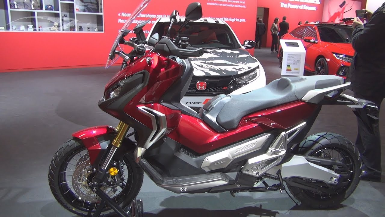 Honda X Adv 2019 Exterior And Interior