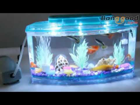 Aquarium Mini LED Light Fish Tank - Banggood.com