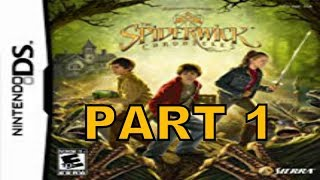 The Spiderwick Chronicles (NDS) Walkthrough Part 1 With Commentary