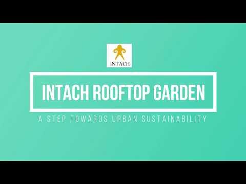 INTACH Rooftop garden