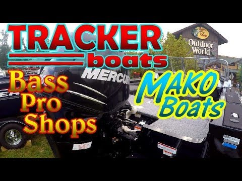 Tracker & MAKO Boats At Bass Pro Shops