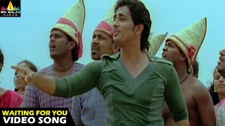 Oye Songs | I am waiting Video Song | Telugu Latest Video Songs | Siddharth | Sri Balaji Video