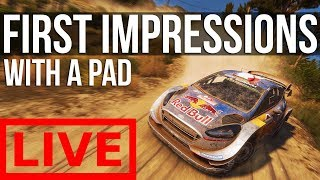 WRC 7 - Career Mode First Impressions thumbnail