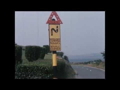 Donegal & Derry in 1950 - Ireland  ( Bridgend Customs Post )