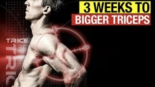 Bigger Triceps In Three Weeks - The Twisted Triceps Workout