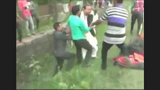 watch-assam-bjp-deputy-speaker-kripanath-mallah-falls-off-an-elephant