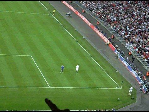 England vs Kazakhstan 1-0 Rio Ferdinand goal