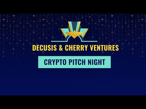 👾 Crypto Pitch Night with Decusis & Cherry Ventures