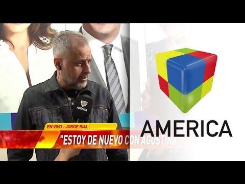 Jorge Rial confirmó su reconciliación con Agustina Kämpfer en un móvil para Infama