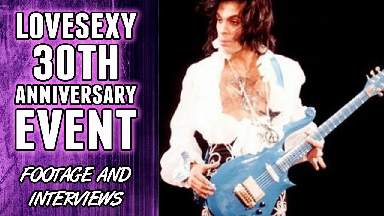 Prince's Lovesexy 30th Anniversary Event - Footage and Interviews