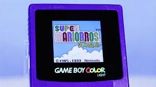 GameBoy Color McWill BACKLIT Screen Mod!
